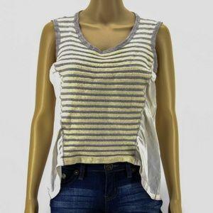 St. John Women Top Blouse Shirt Silk White
